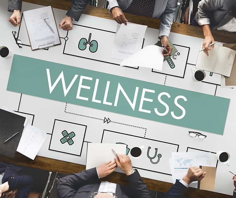 company includes hypnosis in their corporate wellness program
